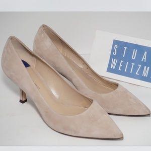 Stuart Weitzman Tippi 70 Pointed Toe Heels Pumps